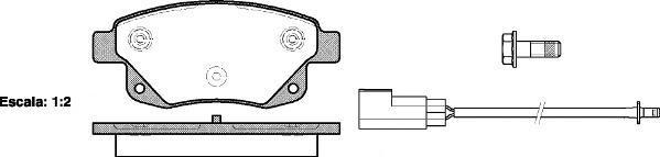 Колодки тормозные дисковые Road House 21252022125202