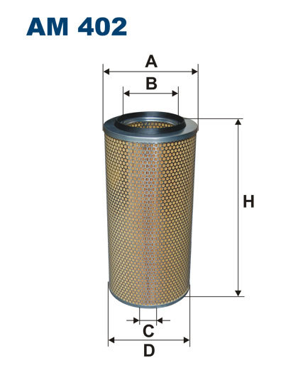 Фильтр воздушный Filtron AM402AM402