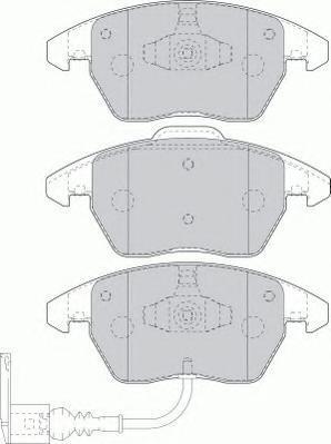 Колодки тормозные дисковые Premier Ferodo FDB1641FDB1641