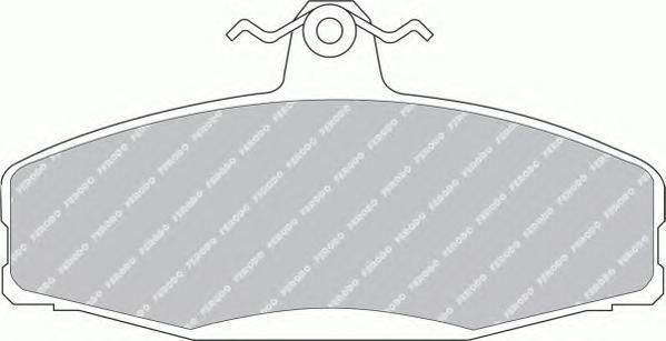 Колодки тормозные дисковые Ferodo FSL610FSL610