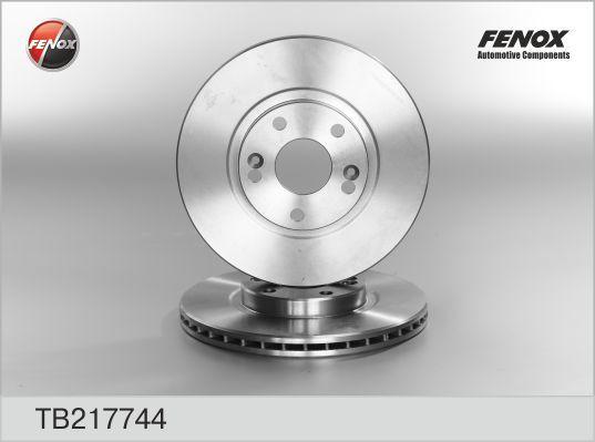 Диск тормозной Fenox TB217744 комплект 2 штTB217744