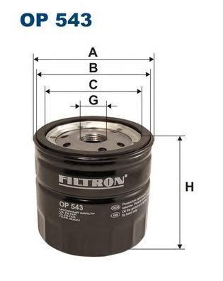 Фильтр масляный Filtron OP543OP543