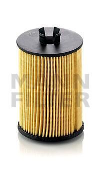 Масляный фильтроэлемент без металлических частей Mann-Filter HU6121XHU6121X