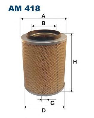 Фильтр воздушный Filtron AM418AM418