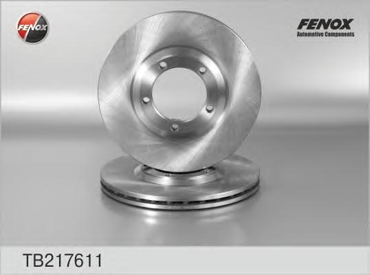 Диск тормозной Fenox TB217611 комплект 2 штTB217611