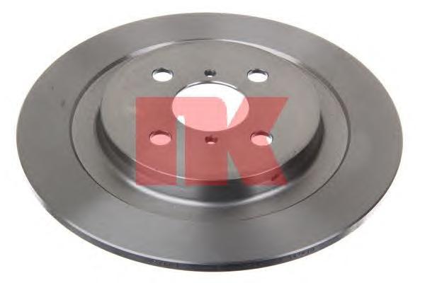 Диск тормозной NK 2045111 комплект 2 шт2045111