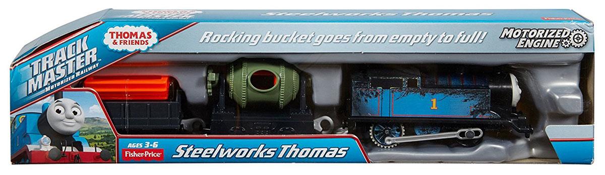 Thomas & Friends Паровозик Стальной Томас - Железные дороги