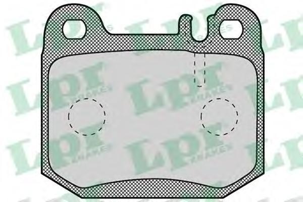 Колодки тормозные задниеLPR / AP 05P90105P901