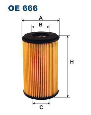 Фильтр масляный Filtron OE666OE666