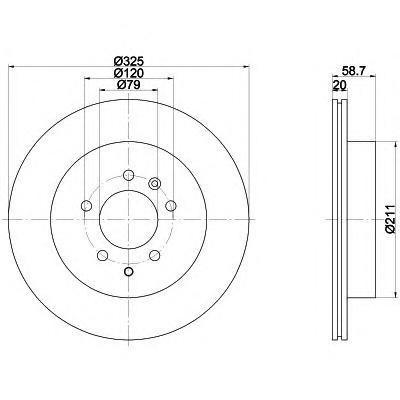 Диск тормозной задний Textar 92147603 комплект 2 шт92147603