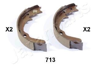 Колодки тормозные барабанные, ручной тормоз Japanparts GF713AFGF713AF