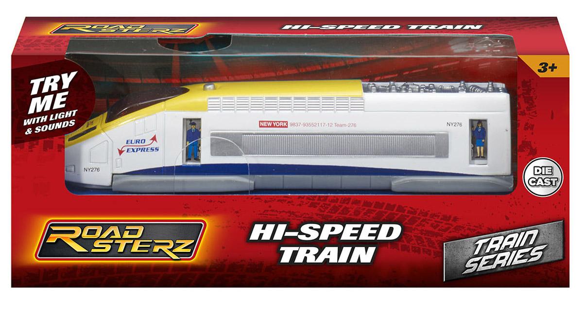 HTI Скоростной поезд Roadsterz Euro Express машины hti машинка roadsterz самосвал бункеровоз