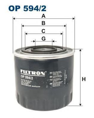 Фильтр масляный Filtron OP5942OP5942