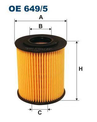Фильтр масляный Filtron OE6495OE6495