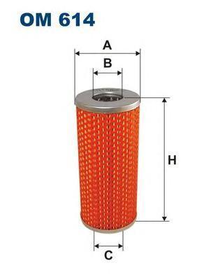 Фильтр масляный Filtron OM614OM614
