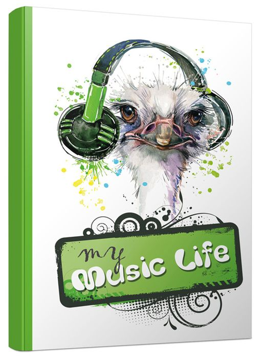 Попурри Блокнот My Musik Life 80 листов в точку формат A5