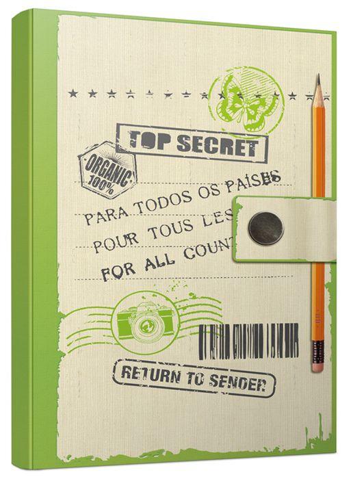 Попурри Блокнот Top Secret 80 листов в точку формат A5En6_12455Блокнот Попурри Top Secret прекрасно подойдет для записи творческих идей, учебных заметок или любых других памяток, а также девчачьих секретов и важных мыслей.Блокнот имеет удобный формат и качественную офсетную бумагу. Внутренний блок содержит 80 листов в точку. Он станет отличным приобретением или подарком для всех, кто привык на ходу фиксировать информацию, писать и рисовать.