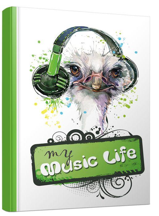 Попурри Блокнот My Musik Life 80 листов в точку формат A6