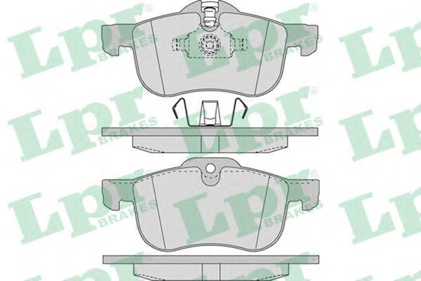 Колодки тормозные передниеLPR / AP 05P95205P952