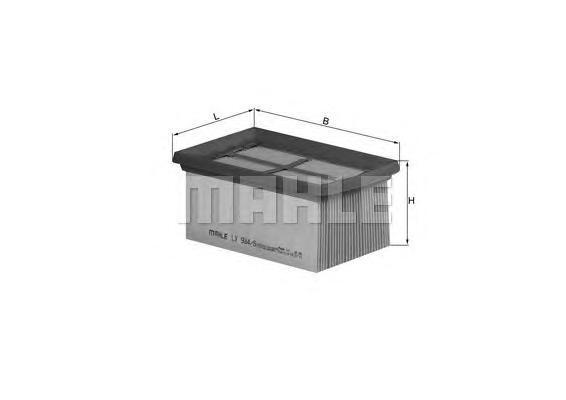 Фильтр воздушный Mahle/Knecht LX9845LX9845