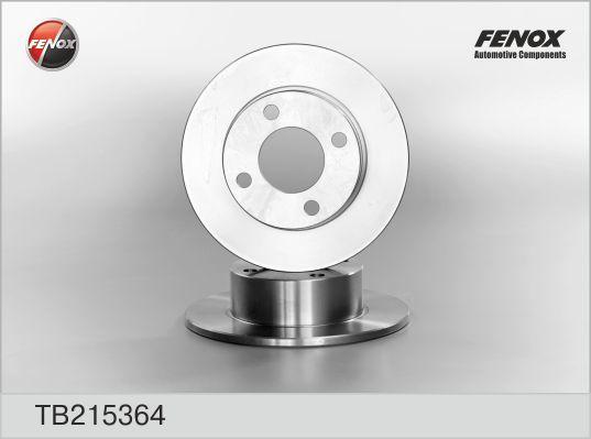 Диск тормозной Fenox TB215364 комплект 2 штTB215364