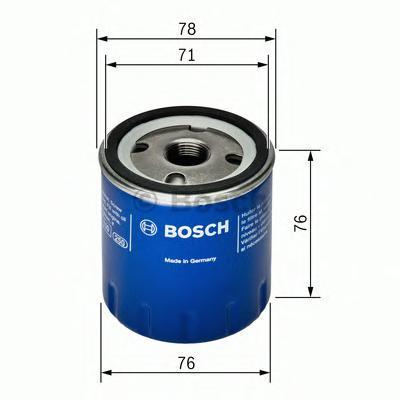 Фильтр масляный Bosch F026407078F026407078