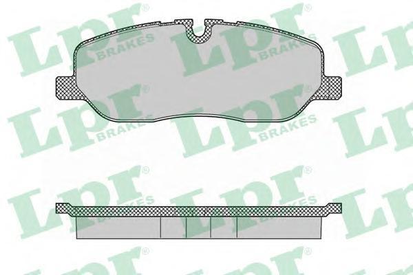 Колодки тормозные передние LPR / AP 05P136005P1360
