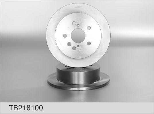 Диск тормозной Fenox TB218100 комплект 2 штTB218100