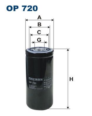 Фильтр масляный Filtron OP720OP720