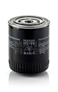 Фильтр масляный Mann-Filter W9309W9309