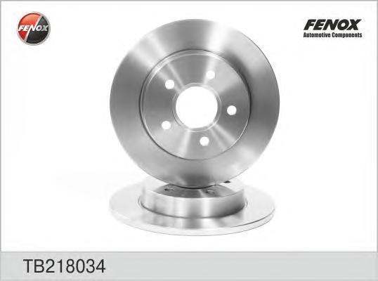 Диск тормозной Fenox TB218034 комплект 2 штTB218034