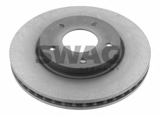 Диск тормознойSwag 80931275 комплект 2 шт80931275