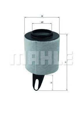 Фильтр воздушный Mahle/Knecht LX1650LX1650