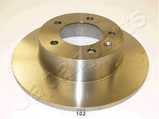 Диск тормозной Japanparts DP102 комплект 2 штDP102