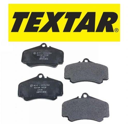 Колодки тормозные дисковые, 4 шт Textar 23554022355402