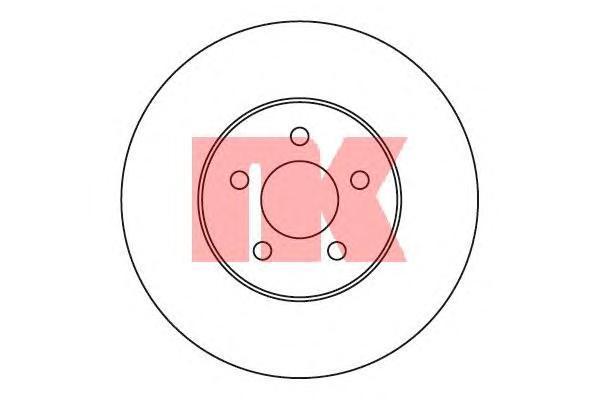 Диск тормозной NK 209315 комплект 2 шт209315