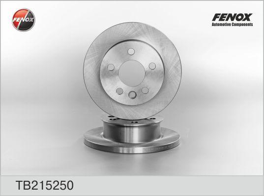 Диск тормозной Fenox TB215250 комплект 2 штTB215250
