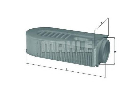 Фильтр воздушный Mahle/Knecht LX16861LX16861