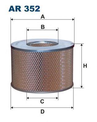 Фильтр воздушный Filtron. AR352AR352