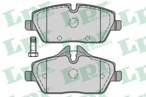 Колодки тормозные передние LPR / AP 05P124105P1241