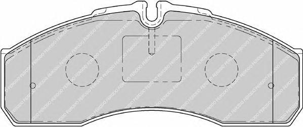 Колодки тормозные дисковые Premier Ferodo FVR1791FVR1791