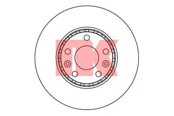 Диск тормозной NK 203971 комплект 2 шт203971
