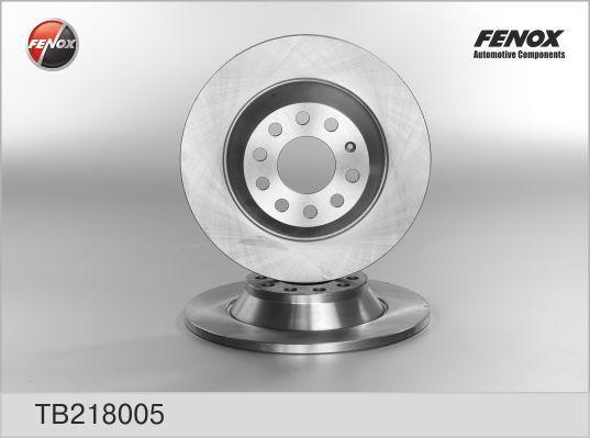 Диск тормозной Fenox TB218005 комплект 2 штTB218005
