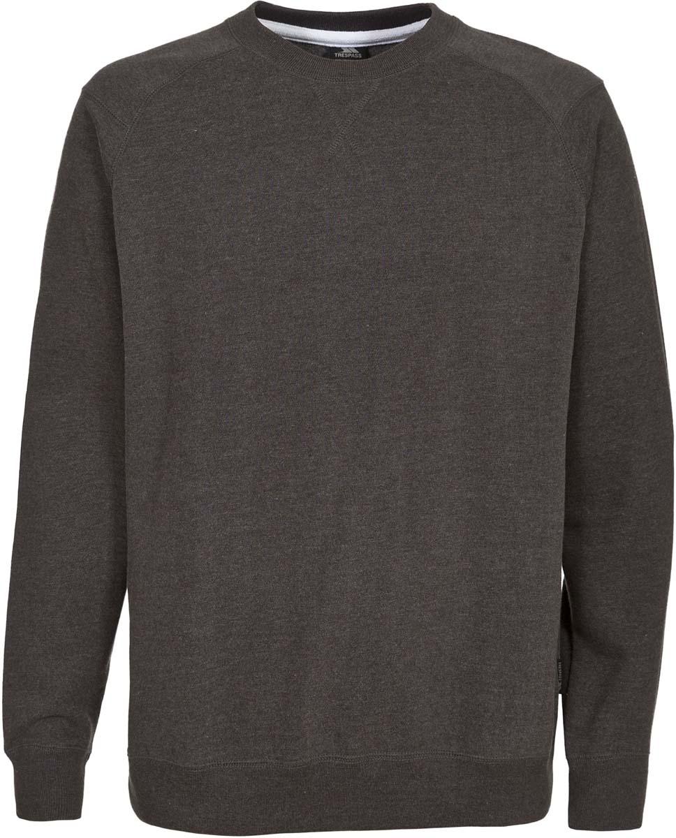 Толстовка муж Trespass Thurles, цвет: серый. MATOSWL20001. Размер S (48)MATOSWL20001