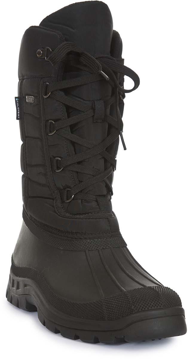 Сапоги мужские Trespass Straiton_Ii, цвет: черный. MAFOBOM20001. Размер 43MAFOBOM20001Технологичные высокие трекинговые ботинки. Выполнены из мембранного материала. Утеплены микроволоконным утеплителем.
