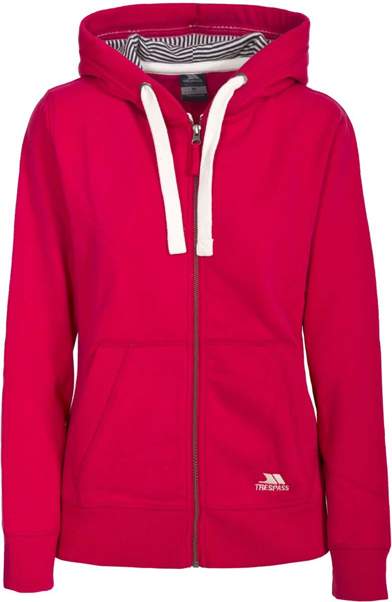 Толстовка жен Trespass Swag, цвет: розовый. FATOSWM20003. Размер S (44)FATOSWM20003