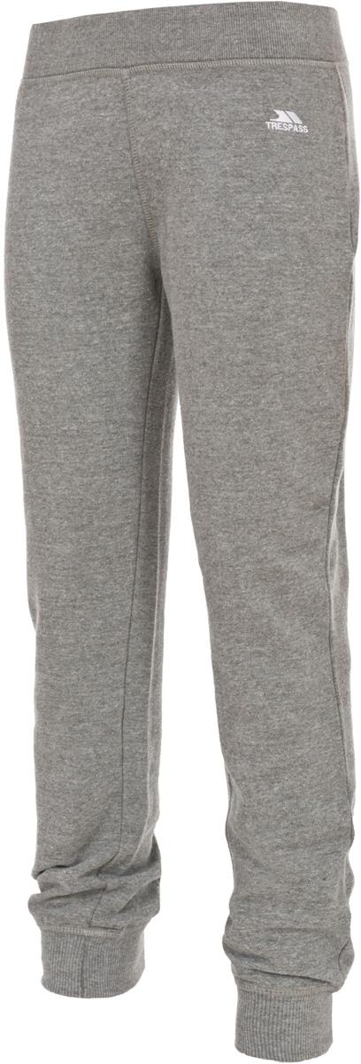 Брюки спортивные жен Trespass Emmy, цвет: серый. FABTTRM20004. Размер XL (50)FABTTRM20004Превосходные спортивные брюки свободного кроя. Модель на эластичном поясе обеспечит комфортную посадку. По бокам - прорезные карманы.