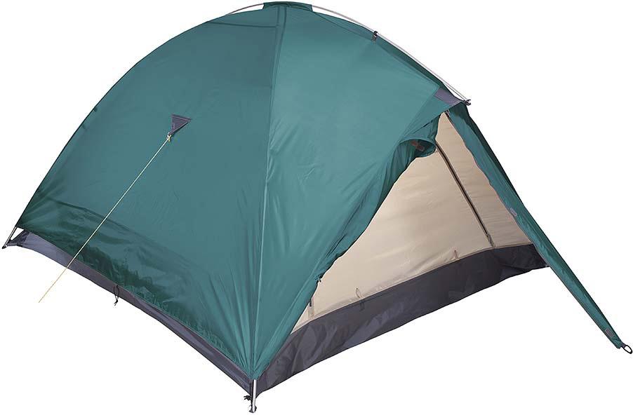 Палатка Red Fox Challenger 4, цвет: зеленый