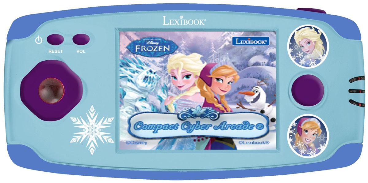 Lexibook портативная игровая консоль Дисней Холодное Сердце + 150 игр267339Великолепная игровая консоль с изображением персонажей из мультфильма Холодное сердце Дисней, для любителей игр !- 150 классических игр собрались в одной консоли: приключение, аркада, игры, кирпич, и многое другое !- Высокое качество графики-16 бит- Экран 2.2'