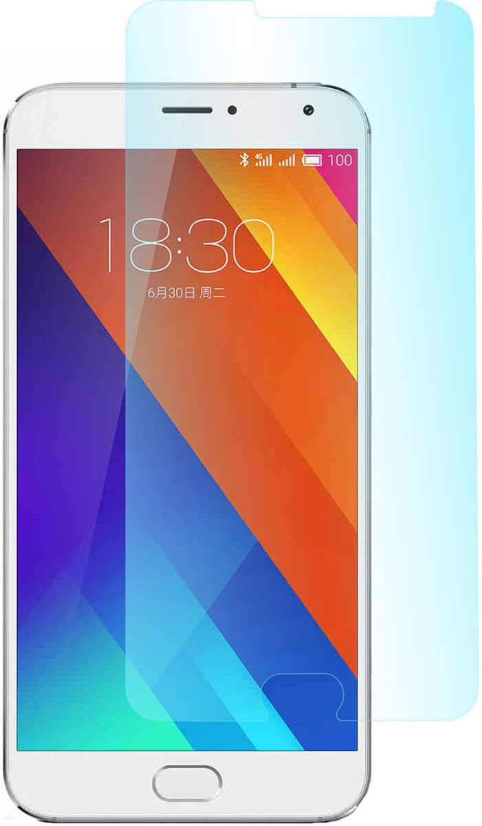 цена на Skinbox защитное стекло для Meizu MX5 Pro, глянцевое